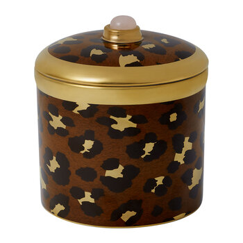 Safari Leopard Candle