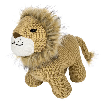 Kids Knitted Toy - Lion
