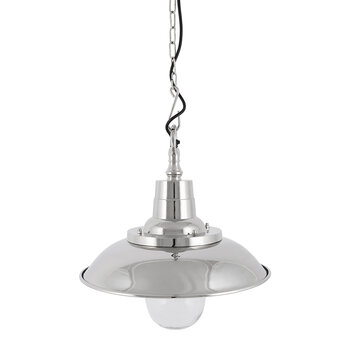 Silver Industrial Pendant Light