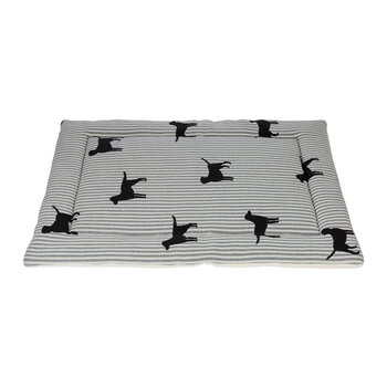 Pet Mat - Large - Stripe Dog