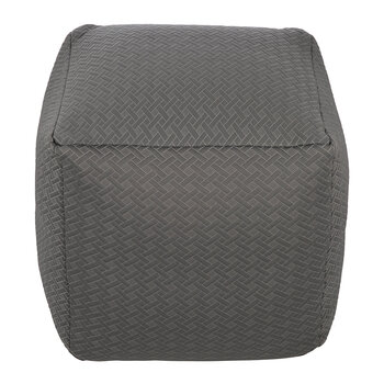 Woven Knitted Pouf