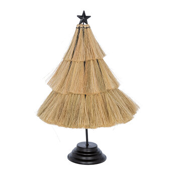 Straw Tree Ornament