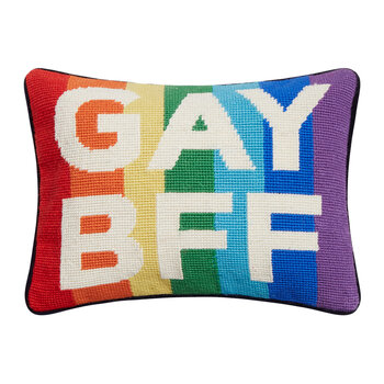 Gay BFF Pillow