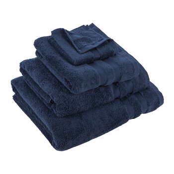 Pima Towel - Navy