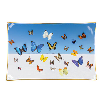 Butterflies Porcelain Tray
