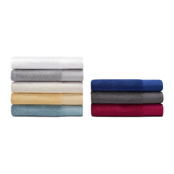 Riverstone Towel - Boysenberry