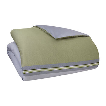 Paddy Quilt Cover - Khaki