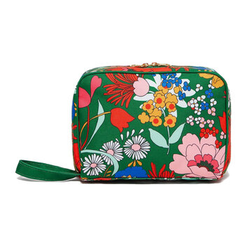 Getaway Leatherette Toiletry Bag - Superbloom