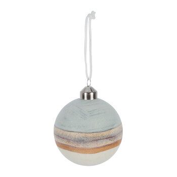 Planet Look Bauble - Set of 3 - Light Blue