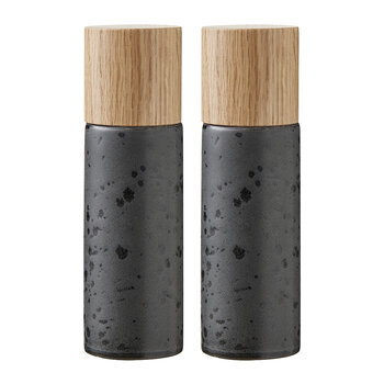 Gastro Salt and Pepper Shakers - Black