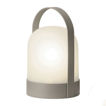 Outdoor LED Hanging Lantern - Charcoal