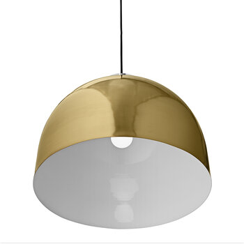 Luceo Round Pendant - Gold