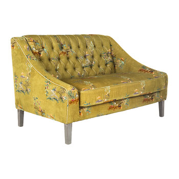 Baron Tufted Sofa - Chinoiserie Velvet