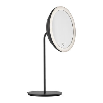 Magnifying Table Mirror - Black