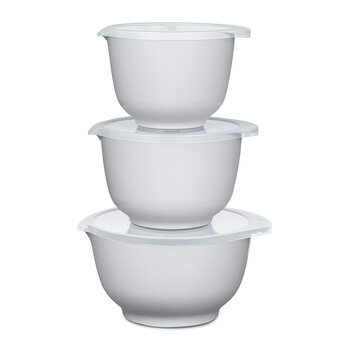 Margrethe Mixing Bowl - Set of 3 - White