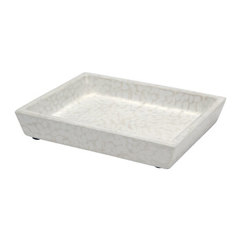 Callas Soap Dish - White