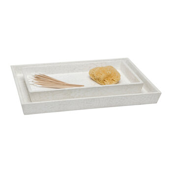 Callas Tray Set - White