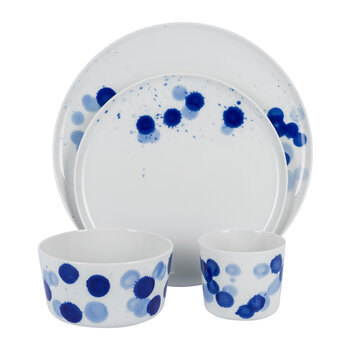 Luna Side Plate - Drops