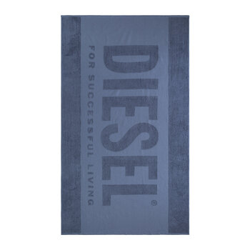 Active Logo Beach Towel - Jeans