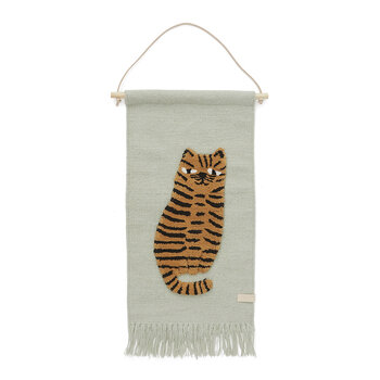 Tiger Wall Hanger