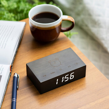 Flip Click Clock - Black