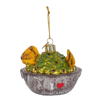 Guacamole Bowl Tree Decoration