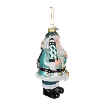Noble Gems Nautical Santa Tree Decoration