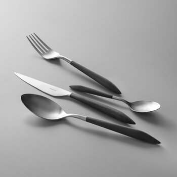 Ares 4 Piece Cutlery Set - Black