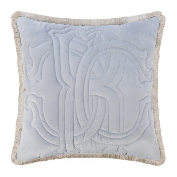 Essential Velvet Cushion - 60x60cm - Grey