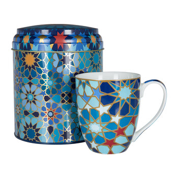 Mug Box Set - Moucharabieh Blue