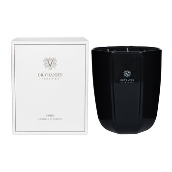 Ambra Scented Candle - Onyx