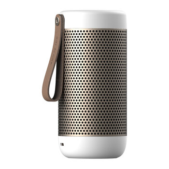 aCoustic Bluetooth Speaker - White