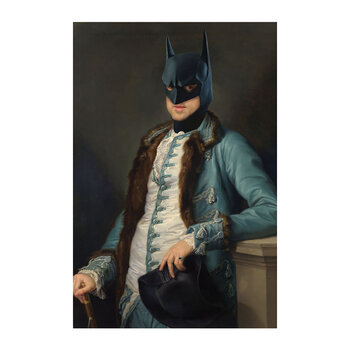 Historic Batman Print