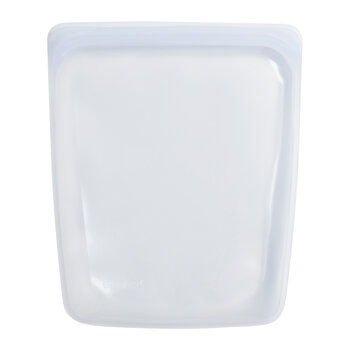 Silicone Reusable Half Gallon Bag - Clear