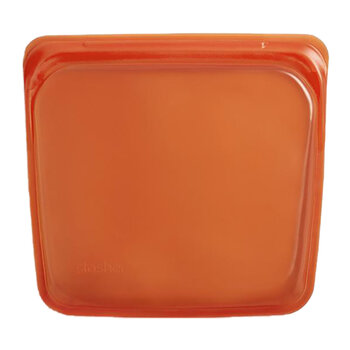 Silicone Reusable Sandwich Bag - Citrus