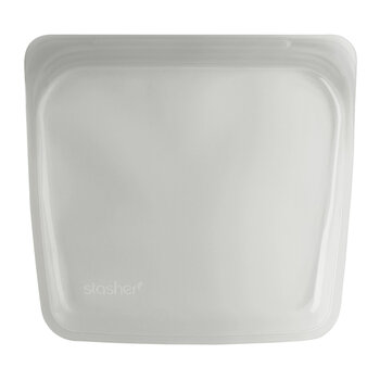 Silicone Reusable Sandwich Bag - Clear