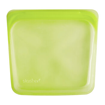 Silicone Reusable Sandwich Bag - Lime