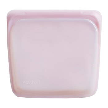 Silicone Reusable Sandwich Bag - Rose