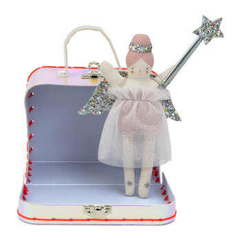 Mini Doll in Suitcase - Evie Doll