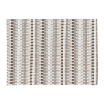Heddle Rectangle Placemat - Pebble