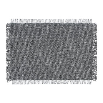 Market Fringe Rectangle Place Mat - Shadow