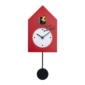 Freebird Punk Wall Clock - Red