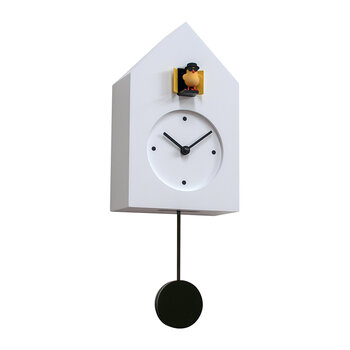 Freebird Badass Wall Clock - White