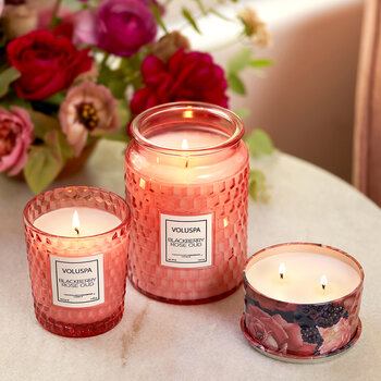 Blackberry Rose Oud Candle - 170g