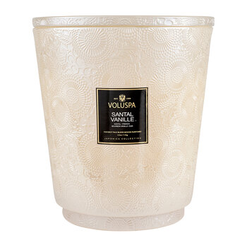 Japonica Hearth Candle - 3.5kg - Santal Vanille