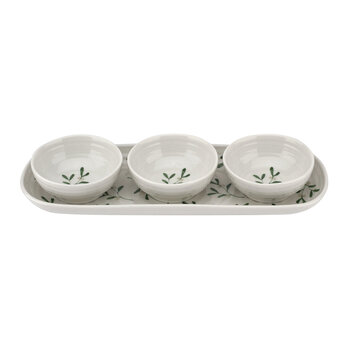 3 Bowl & Tray Set