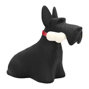 Scottish Terrier Lampe - Schwarz