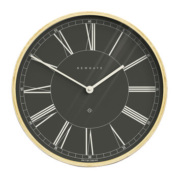 Architect Wall Clock - Black
