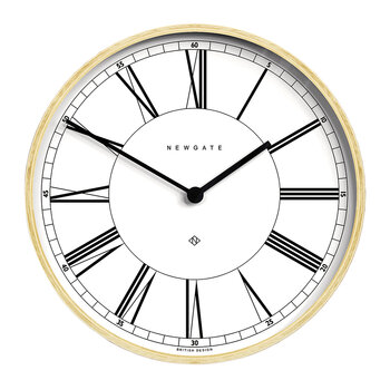 Architect Wall Clock - White