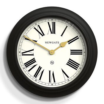 Chocolate Shop Wall Clock - Cave Black
